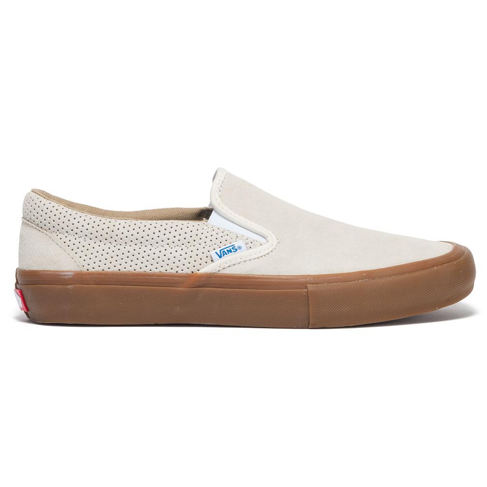 vans slip on pro shoes white gum at skate pharm. Black Bedroom Furniture Sets. Home Design Ideas
