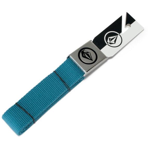 Volcom Circle Stone Web Belt Stormy Blue