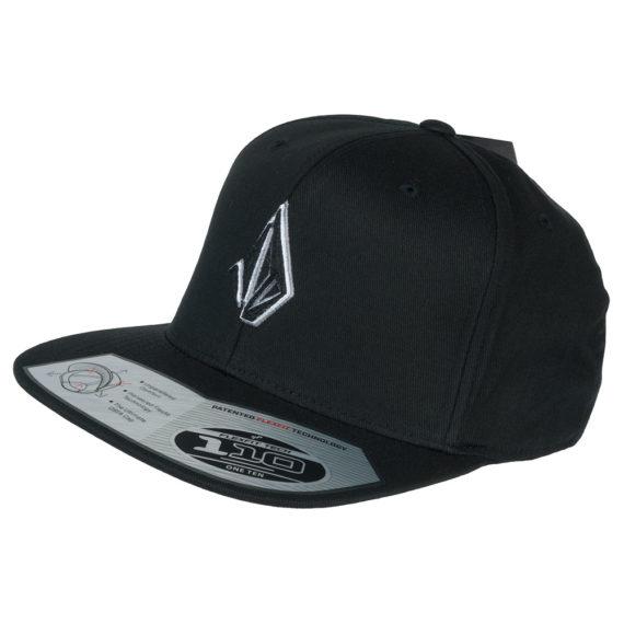 Volcom Semistone Snapback Hat Black