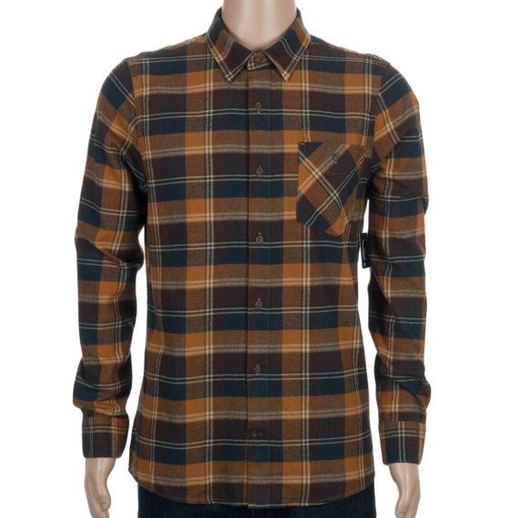 Volcom Pablo II Shirt Rust