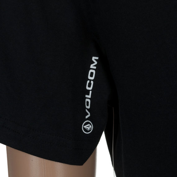Volcom T-Shirt Circle Stone Black