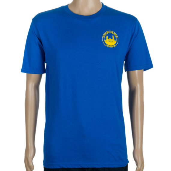 The Portland Wheel Co Logo T-Shirt Royal Blue