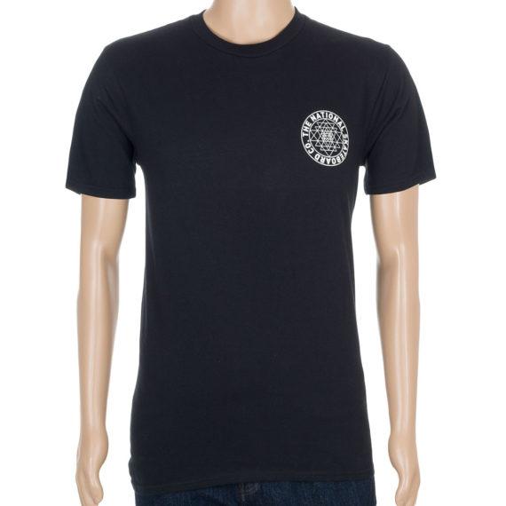 The National Skateboard Co Universal T-Shirt Black
