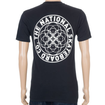 The National Skateboard Co Universal T-Shirt Black