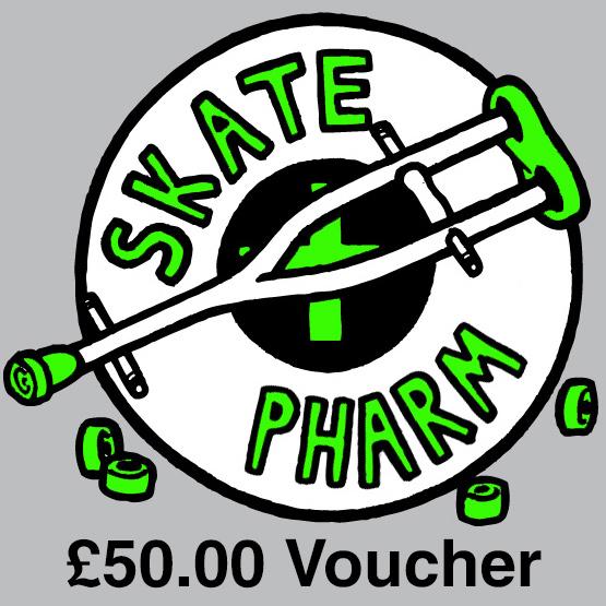 Skate Pharm Gift Voucher - £50