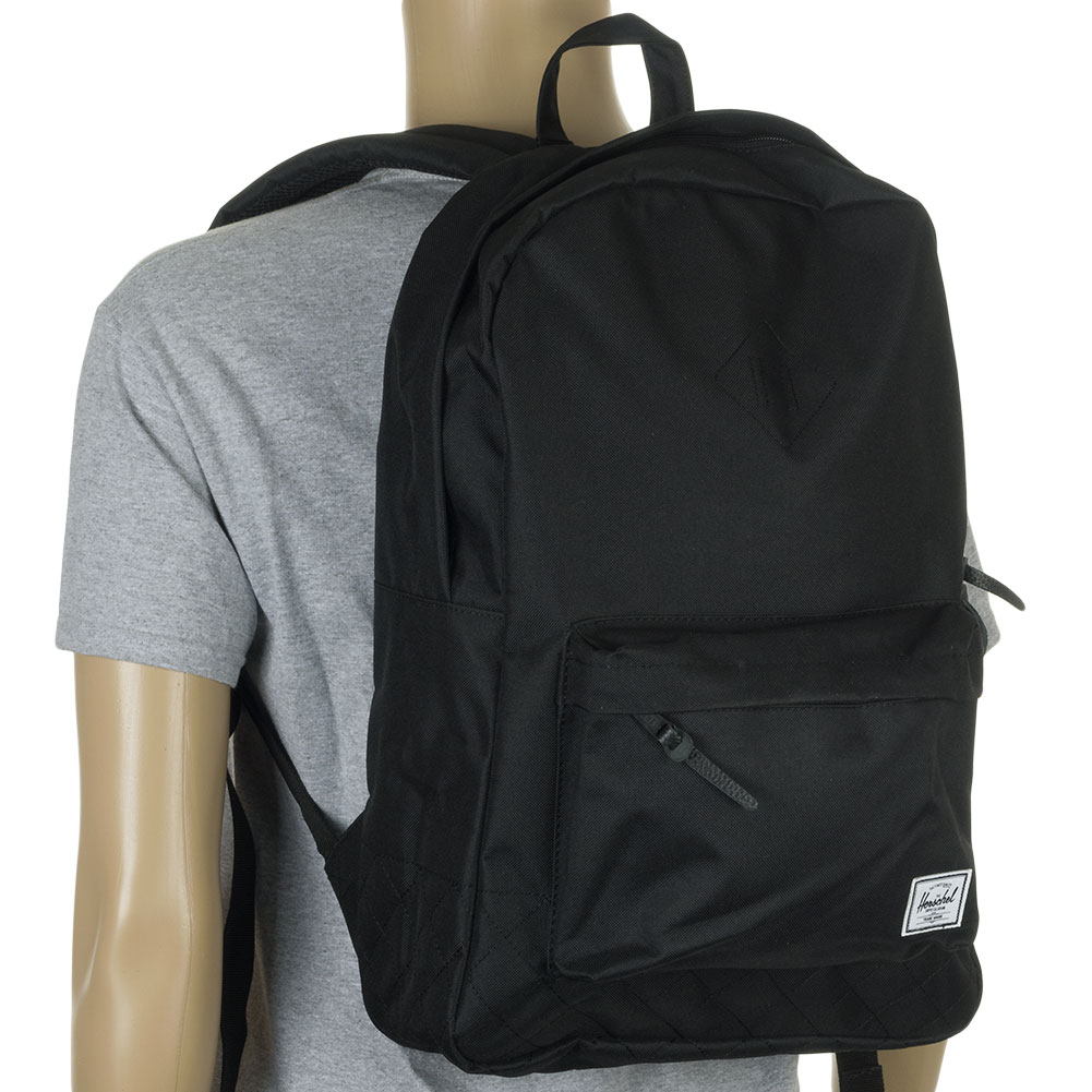 Herschel Heritage Backpack Black at Skate Pharm
