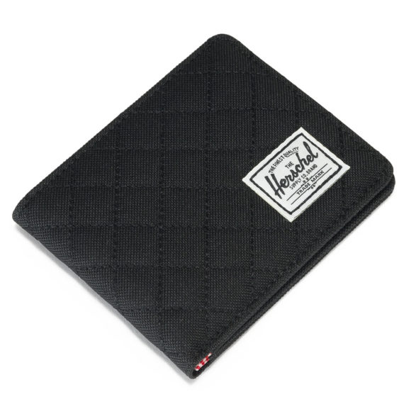 Herschel Roy Wallet Quilted Black