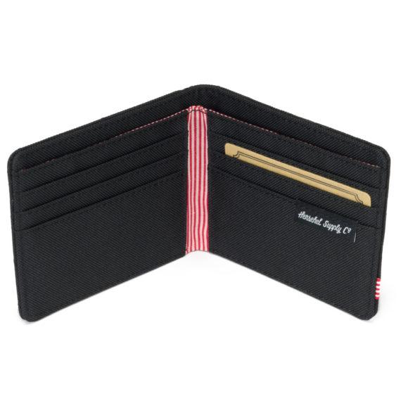 Herschel Roy Wallet Quilted Black
