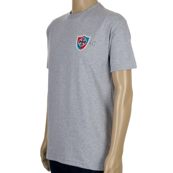 Independent Lance Mountain Shield T-Shirt Grey Side