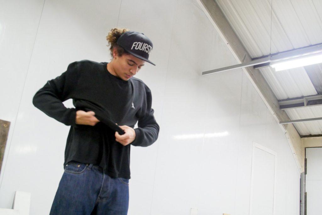 Helas Crewneck Sweatshirt - Skate Pharm Product Test