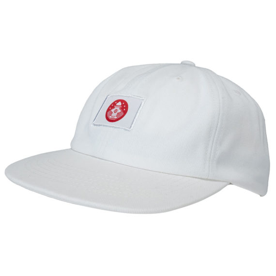 Post Details Almost Dead 6 Panel Hat White