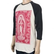 Santa Cruz Jason Jessee Lady Guadalupe Raglan T-shirt