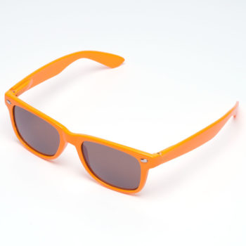 Chocolate Logo Sunglasses Orange