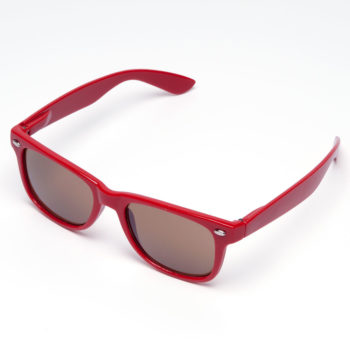 Chocolate Logo Sunglasses Red