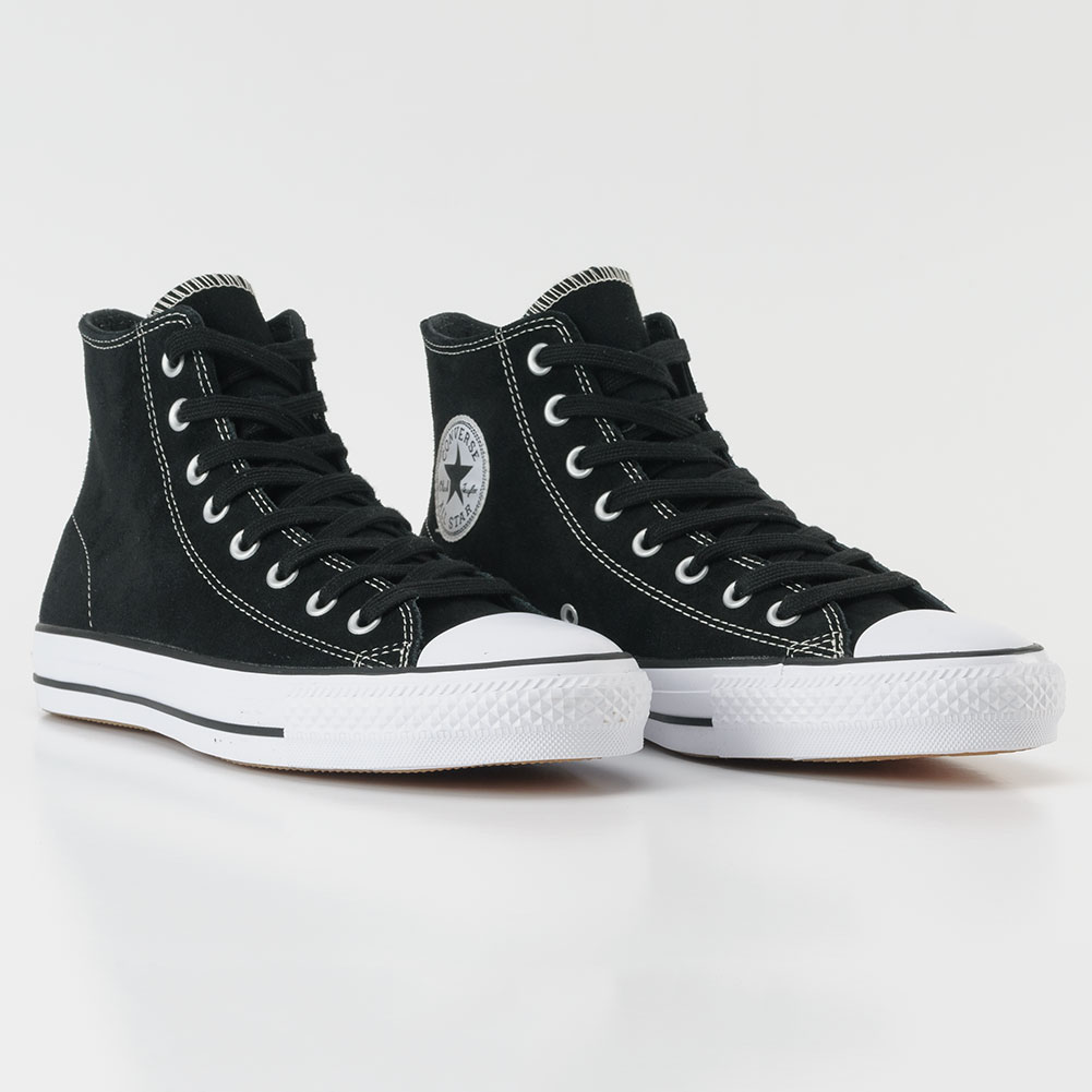7ace21dc8273 Converse CTAS Pro Hi Shoes Suede Black at Skate Pharm