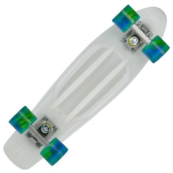 "Penny Cruisers Complete Set Up 22"" Glow Aquamarine"