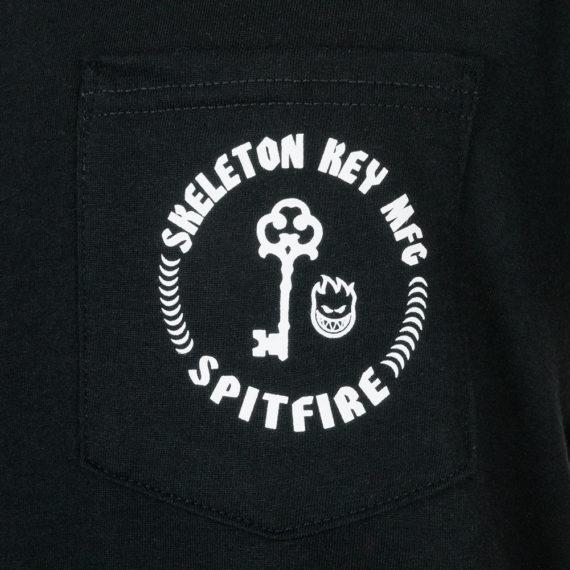 Spitfire Wheels x Skeleton Key MFG Pocket T-Shirt