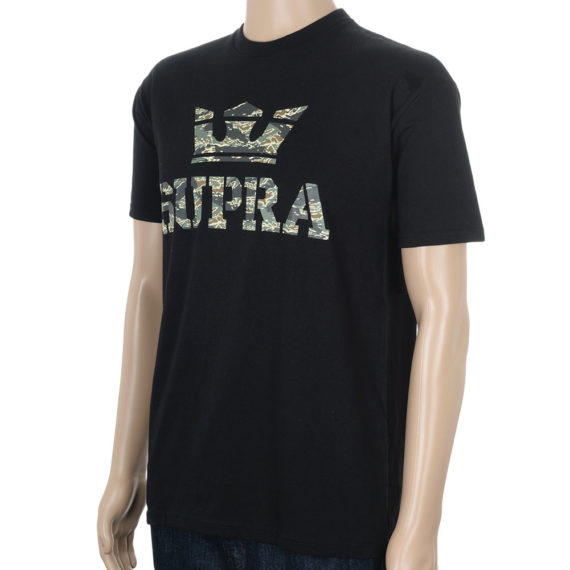 Supra Above T-Shirt Green Camo BlackSupra_Tee-Above-Camo-Black-2