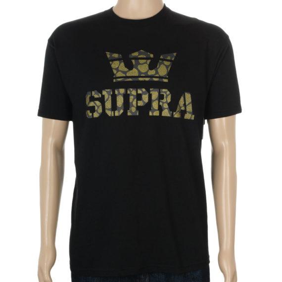 Supra Above T-Shirt Black Giraffe