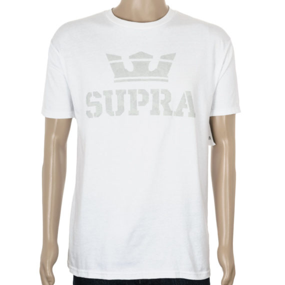 Supra Above T-Shirt White Grey