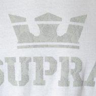 Supra Above T-Shirt White Grey