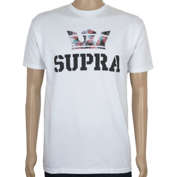 Supra Above T-Shirt White Feathers