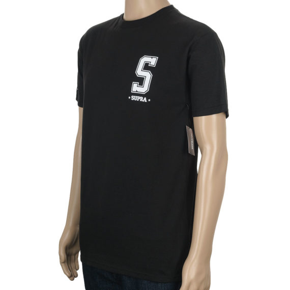 Supra Footwear T-Shirt Worldwide Black