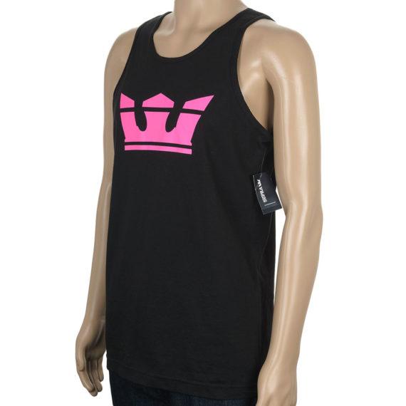Supra Vest Above Black Pink