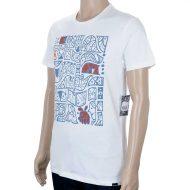 Volcom Don Pendleton FA Pattern T-Shirt Paint White