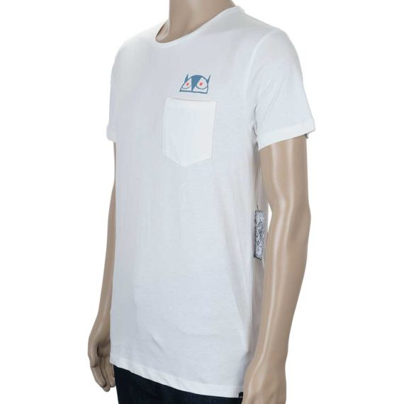 Volcom Don Pendleton FA Stone Fill T-Shirt Paint White