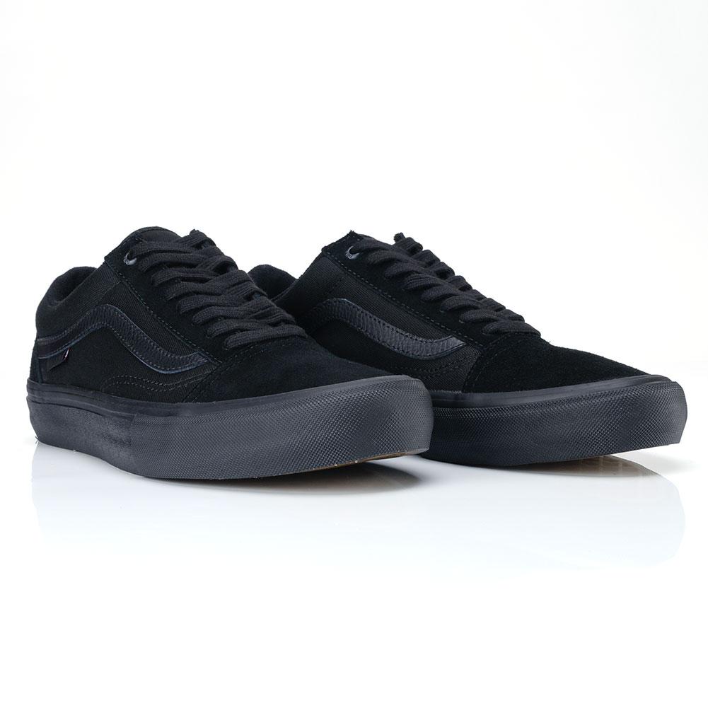 1f4b402e282 Vans Old Skool Pro Shoes Blackout at Skate Pharm