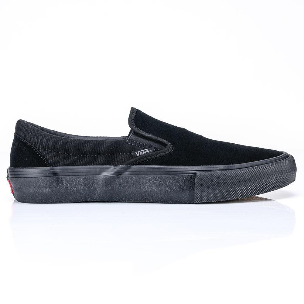 vans slip on pro shoe blackout at skate pharm. Black Bedroom Furniture Sets. Home Design Ideas