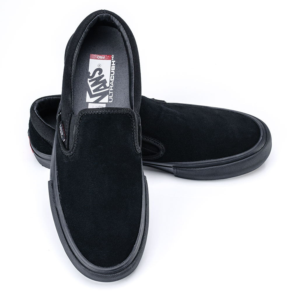 b21f4b4d5b47 Buy vans slip on pro shoes - blackout
