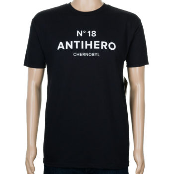 Anti Hero Chernobyl Hero No 18 T-Shirt Black