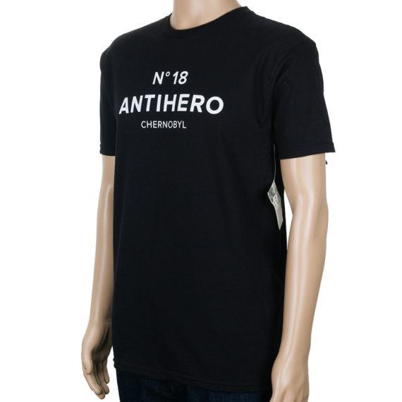 Anti Hero Chernobyl Hero No 18 T-Shirt Black