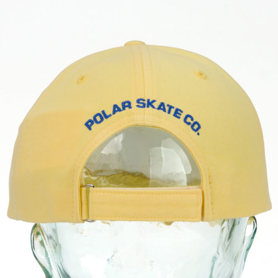 Polar No Comply Hat Pastel Yellow