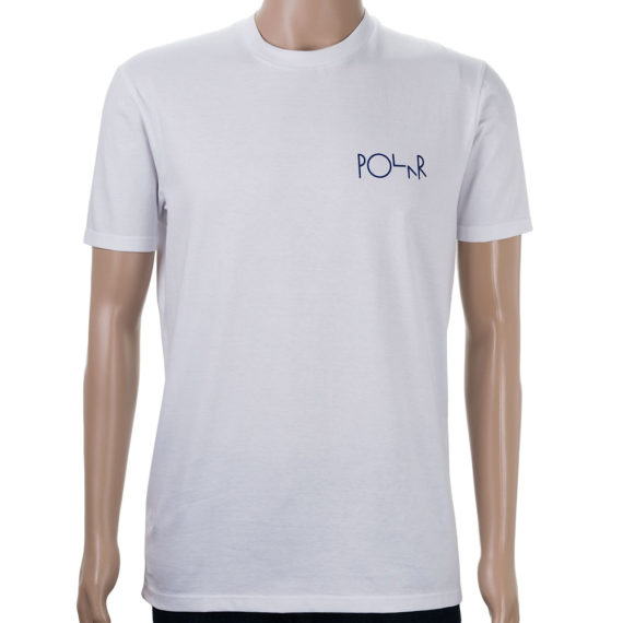 Polar Cut Out Leftovers T-Shirt White