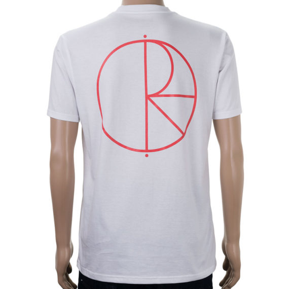 Polar Stroke Logo T-Shirt White Red