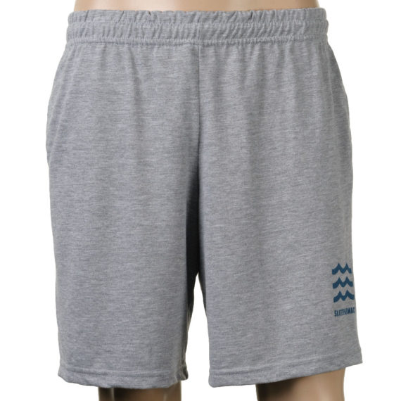 Skate Pharm Mini Wave Logo Jogger Shorts Grey