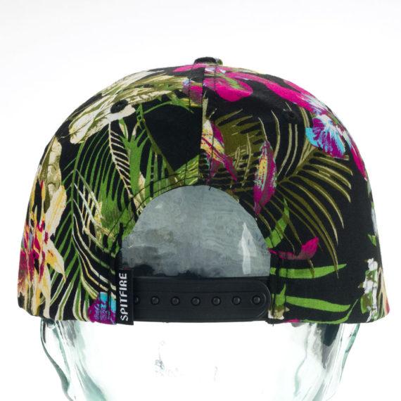 Spitfire Bighead Snapback Hat Hawaiian Floral