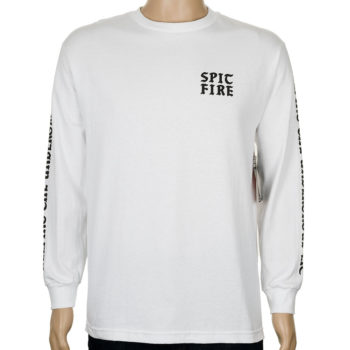 Spitfire Steady Rockin Long Sleeve T-Shirt White