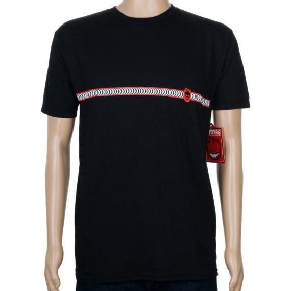 Spitfire Classic Stripe T-Shirt Black