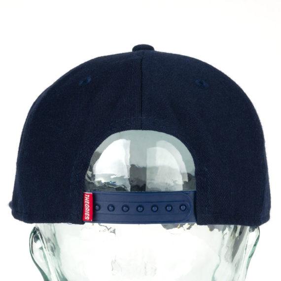 Theories Big Apple Snapback Hat Navy