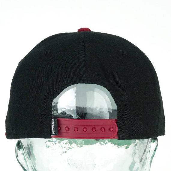 Theories Unsolved Snapback Hat Black Red