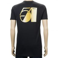 Theories Area 54 T-Shirt Black Gold