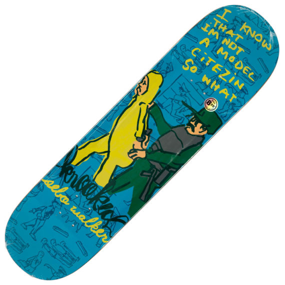 Krooked Sebo Walker In Trouble Deck 8.25""