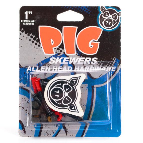 """Pig Skewers Deck Bolts Allen 1.0"""""""