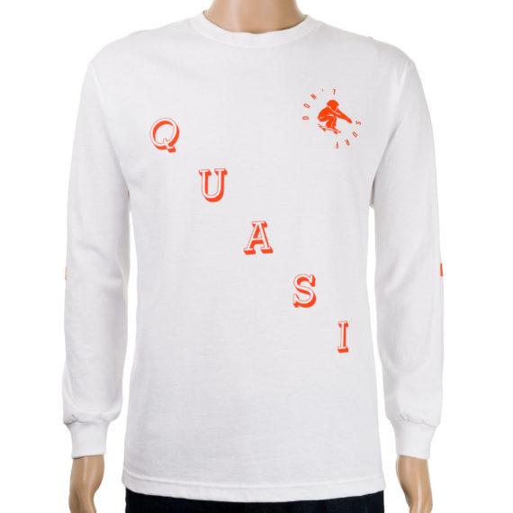 Quasi Serfer Long Sleeve T-shirt White