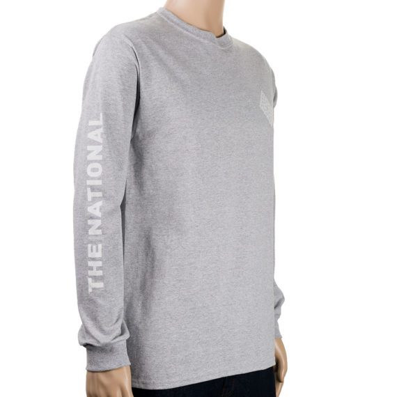National Skateboard Co Corp Long Sleeve T-shirt Grey