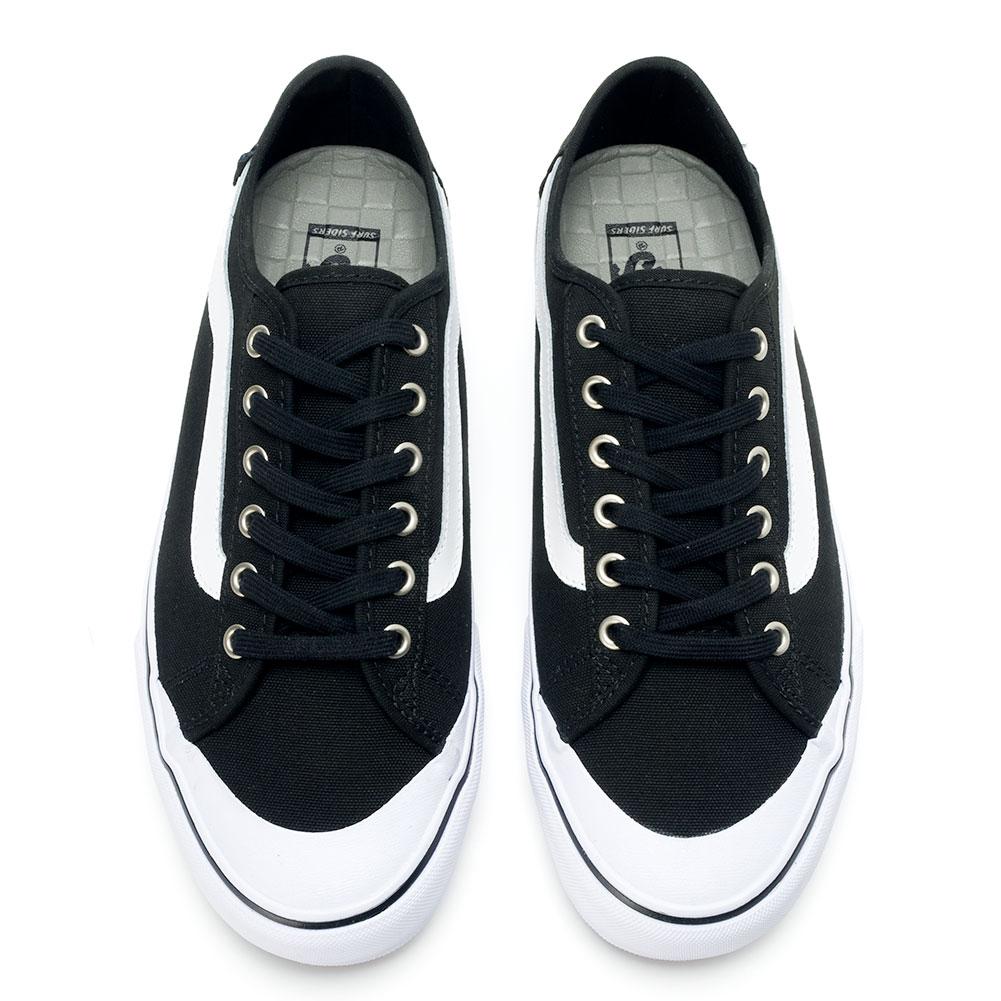 Black Canvas Shoes Black Socks